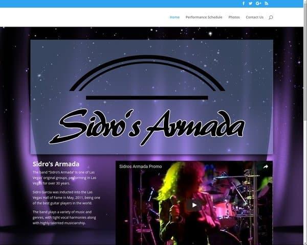 Sidro's Armada - Live Music, featuring Las Vegas Music Hall of Famer, Sidro Garcia